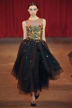 #dress from #ChristianSiriano A/W '13 #NYFW