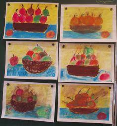 Ovoce - suchý pastel 2.třída