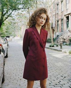 Theory Good Wool Blazer Dress