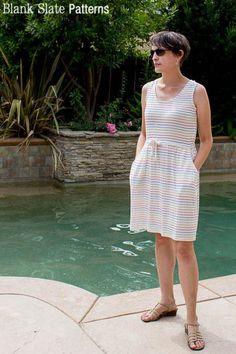 Catalina Dress                           | Blank Slate Patterns