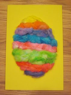 Gummy Lump Toys Blog: Textured Easter Eggs Sensory Art! Kids Easter & Spring Crafts Project #67 I'm doing this with shave cream and glue