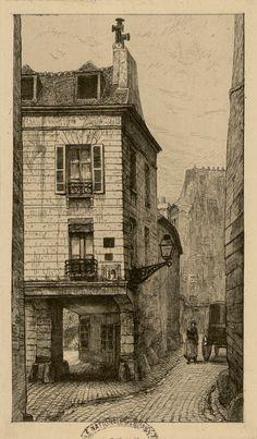 Rue Chanoinesse cité 1665