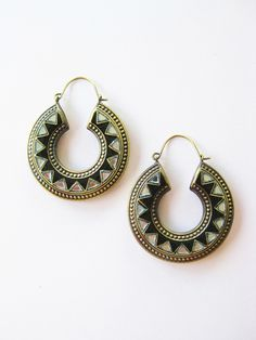 Gorgeous! K Amato Deco Earrings