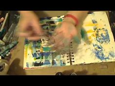Stencils and Printing from Sandwich Bags : JournalArtista LIVE