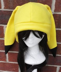 Now YOU will be shocking people! :D  This Pikachu hat is made from fleece and interfacing in the ears, but still allow for some floppiness and do not stand up (and sorry but I do not offer this option). Its a great gift for your selfs inner nerd, kids, teens, and nerdy adults (even the ones that did grow up)! Also perfect for: cold weather, costumes, or conventions. Very warm!  Inspired by: Pikachu from Pokemon  Size: Adult, one size fits all. Circumference about 23-24 in. Can custom fit…