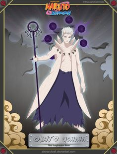 Obito Uchiha -Final Transformation Rikudo-