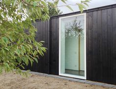 Image result for black cedar clad garden studio
