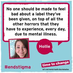 Read Hollie's powerful, insightful blog about the reality of living with a personality disorder and how she's experienced stigma in treatment, university and in her relationships. #endstigma