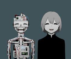 """アボガド6 on Twitter: """"微笑む金属… """" Sad Anime, Kawaii Anime, Japanese Illustration, Illustration Art, Manga Art, Anime Art, Sun Projects, Dark Art Illustrations, Arte Obscura"""