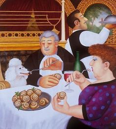 "Beryl #cook,signed #limited edition print,""dining in #paris"",  View more on the LINK: 	http://www.zeppy.io/product/gb/2/322393904725/"