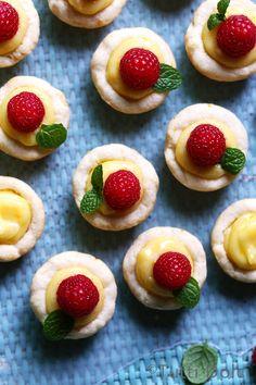 Meyer Lemon Tartlets