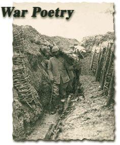 """War poetry - The """"Great War""""?!"""
