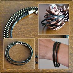 Zipper, Facebook, Bracelets, Men, Accessories, Jewelry, Jewlery, Bijoux, Schmuck
