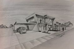 architectural buildings sketches.  Buildings Modern Concept Architectural Buildings Sketches And Hand  Drawings Computer Vs Drawing With C