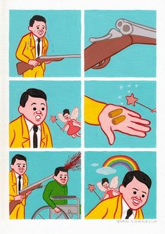 The dark, incredibly f*cked up comics of Joan Cornellà | Dangerous Minds