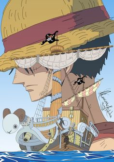 Going Merry Monkey D. Luffy One piece More