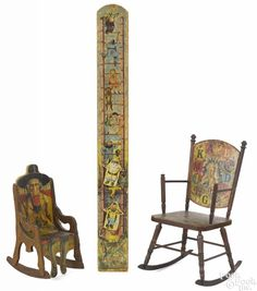 Bliss paper lithograph Our Comical Ladder toy featuring a figure of Santa Claus - Price Estimate: $200 - $300
