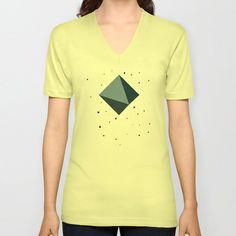 POLARIS V-neck T-shirt by THE USUAL DESIGNERS - $24.00