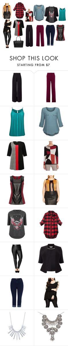 Calças e blusas Bela Melissa Mccarthy Seven7, Nic And Zoe, City Chic, Miss Selfridge, Stella Mccartney, Polyvore, Studio, Fashion, Sash