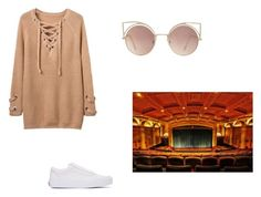"""""""Night at the movies!!"""" by bradybelle ❤ liked on Polyvore featuring Vans and MANGO"""