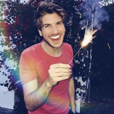 I burnt my hand and set the synthetic grass on fire for this picture! So give it a double damn tap! Joey Graceffa, Perfect Boyfriend, Your Best Friend, Youtubers, Hot Guys, Photo And Video, My Love, People, Pictures