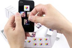 instagram stickers/magnets from photos for thank you cards