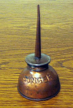 Singer Oil Can