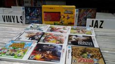 Nintendo ds lite and 3ds games