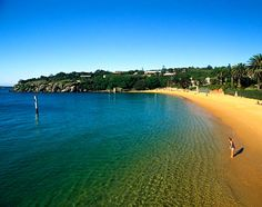 Sydney, Australia north of Sydney Harbour, like Balmoral and Palm, are some of the prettiest in the
