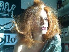 Rossana Diana, the RedHead, sunkiss