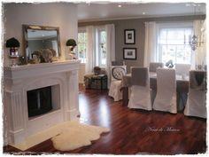 Akkurat samme farge nyanse på gulv og vegger som man selv har. Jotun Kalkgrå på veggene. Home Decor, Interior Design, Home Interior Design, Home Decoration, Decoration Home, Interior Decorating