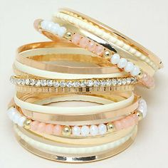 Savannah Bracelet Set in Aspen | Awesome Selection of Chic Fashion Jewelry | Emma Stine Limited