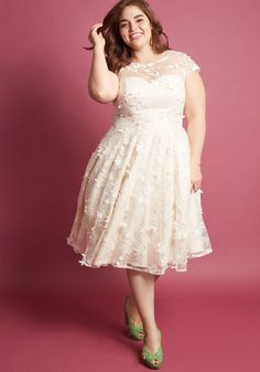 7566d084d30 Chi Chi London Eyes on the Bride A-Line Dress in Posy