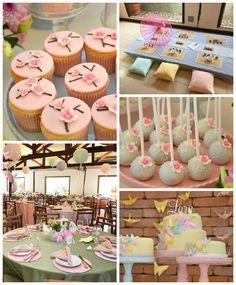 Pastel Japanese Garden Birthday Party via Kara's Party Ideas   KarasPartyIdeas.com #japanesegardenparty (2)
