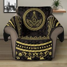 Sofa Protector, Freemason, Wingback Chair, Stitch Patterns, Custom Design, Cozy, Fabric, Stains, Diamond