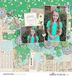 Down the Lane | March '21 Featured Products | Sahlin Studio | Digital Scrapbooking Designs