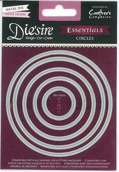 Die`sire Essentials Dies - Circles