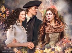we are looking forward to meeting the Fraser family! is coming! Claire Fraser, Jamie Fraser, E Claire, Jamie And Claire, Outlander Fan Art, Outlander Season 4, Outlander Casting, Sam Heughan Outlander, Starz Outlander