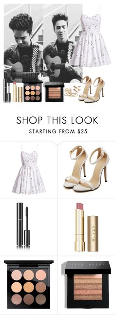 """""""Daniel Seavey"""" by anna-lamanilao ❤ liked on Polyvore featuring Milly, Chanel, Stila, MAC Cosmetics and Bobbi Brown Cosmetics"""