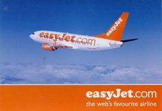Easyjet Boeing B737 Issue Postcard