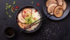 Asijská bůčková roláda - Recept na nejen Paleo snadno Whole 30, Bucky, Lchf, Grilling, Paleo, Low Carb, Ethnic Recipes, Kitchen, Food