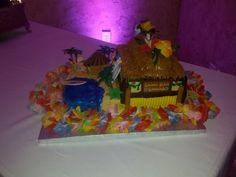 Hawaiian groom's cake