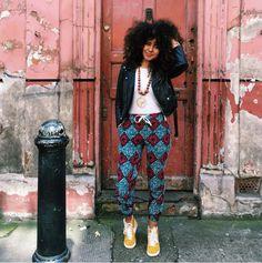 Cheveux afro : Solange Knowles, Zoë Kravitz... dix comptes Instagram pour s'inspirer | Le Figaro Madame