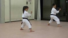 JKA/ Mahiro & Masaki practice Heian shodan-godan and Tekki shodan part 2