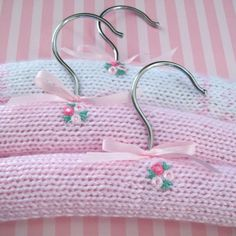 Baby/Children Clothes Hangers 3 pack by chollydot on Etsy, $24.00