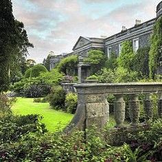 The wildly romantic gardens of Mount Stewart house , Northern Ireland ... The ancestral home of the Marquess of Londonderry , now a beautiful National Trust property open to the public.