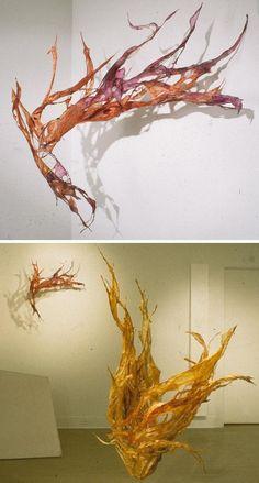 Debra Weisberg . . . fiber art