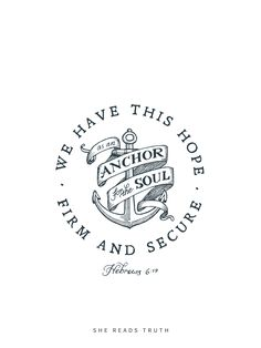 Hebrews 6:19 Anchor Coloring Page | Luv Coloring - Quotes ...