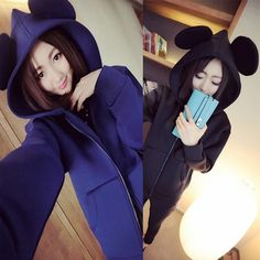Sudadera ratón/mouse hoodie wh280