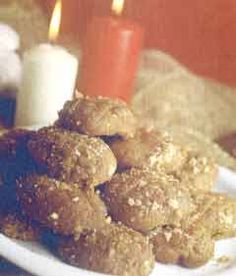 Greek recipe - greek food recipes and cooking - Christmas honey sweets - Μελομακάρονα